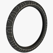 Bicycle Tire Maxxis Hookworm 3d model