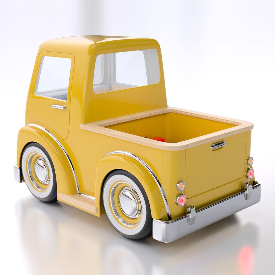 Camionnette De Dessin Animé Modèle 3d 39 Unknown Ma