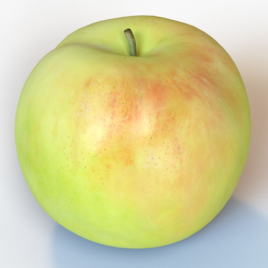 Apple royalty-free 3d model - Preview no. 12