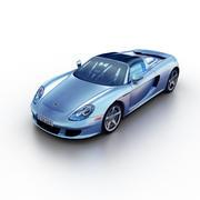 Porsche Carrera GT 2003 3d model