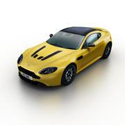 Aston Martin V12 Vantage 2014 3d model
