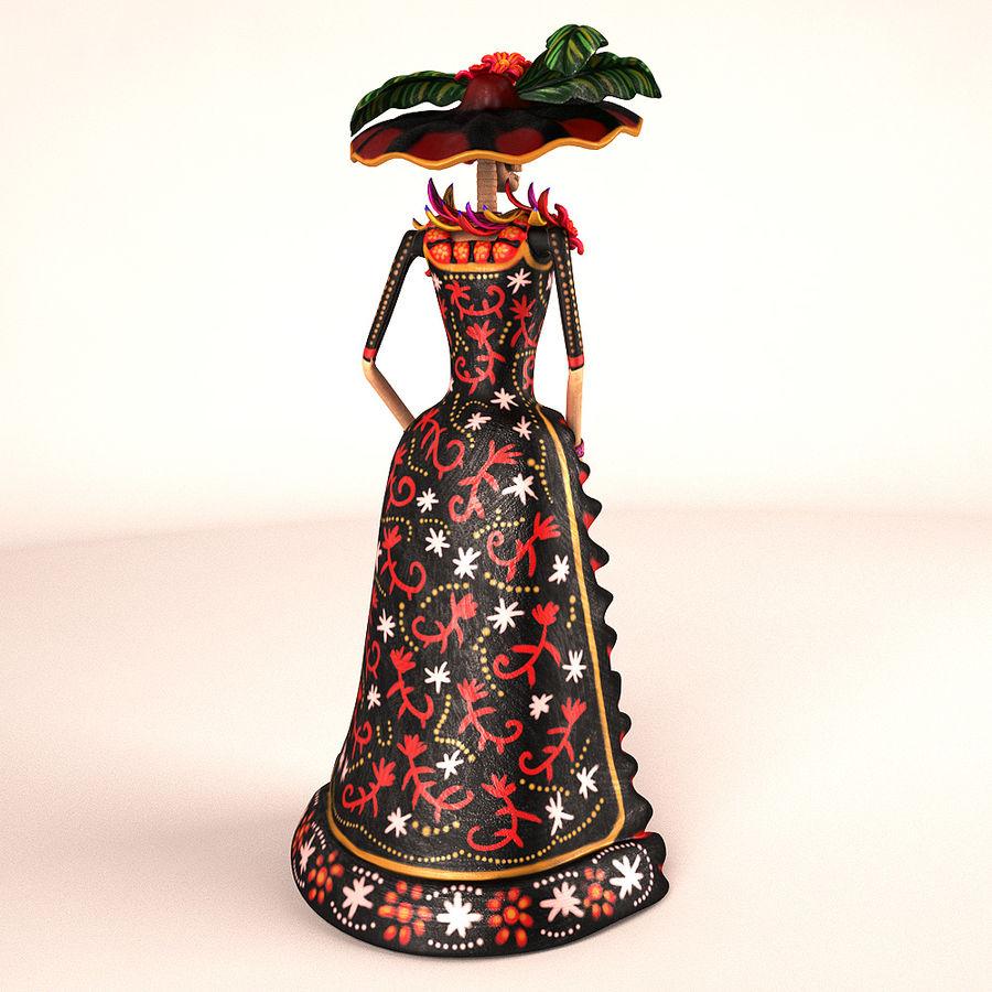Catrina Şapkası royalty-free 3d model - Preview no. 2