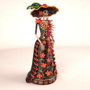 Catrina Hat 3d model