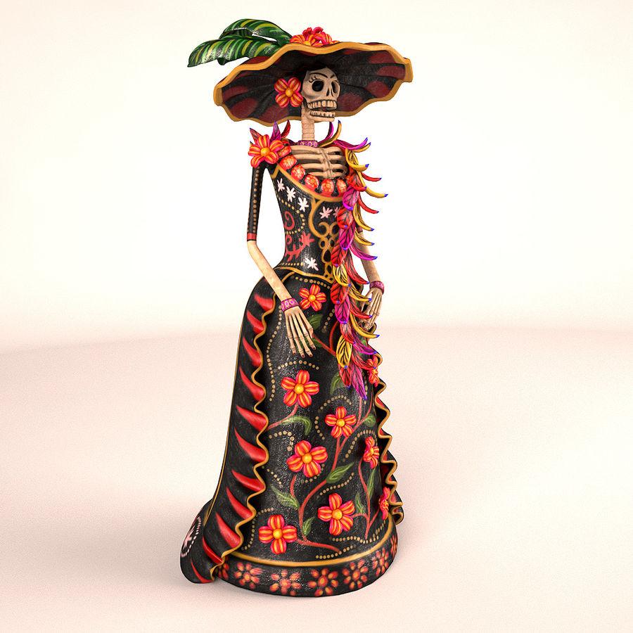 Catrina Şapkası royalty-free 3d model - Preview no. 1