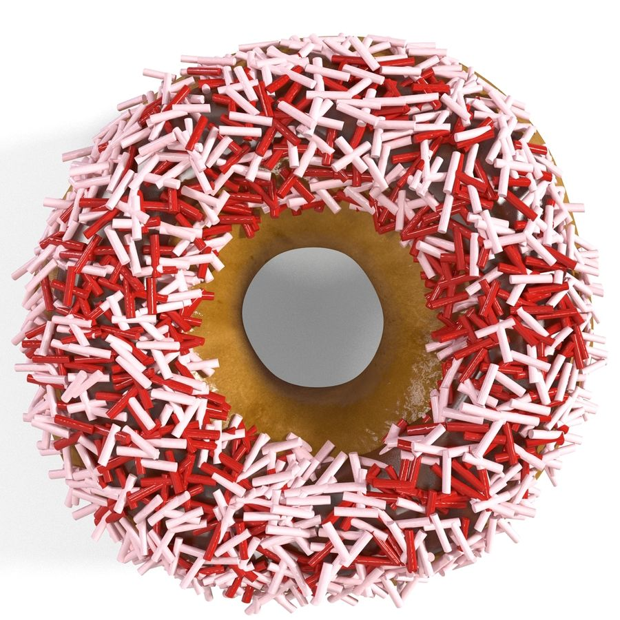 Donut royalty-free 3d model - Preview no. 8