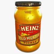Mustard Heinz Bottle 4 3d model