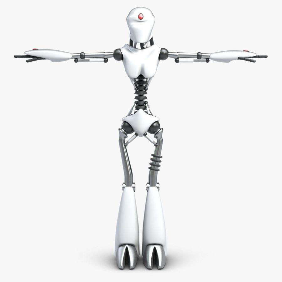 Robot da combattimento royalty-free 3d model - Preview no. 1