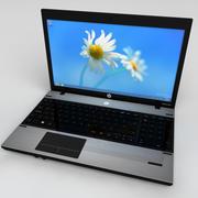 HP Probook高细节 3d model