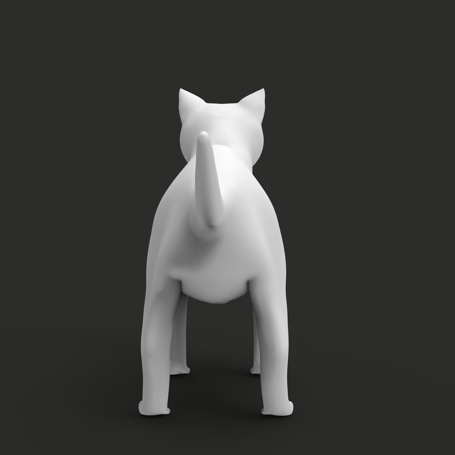 CAT royalty-free 3d model - Preview no. 7