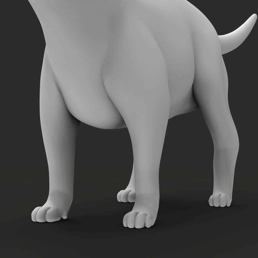 GATTO royalty-free 3d model - Preview no. 12