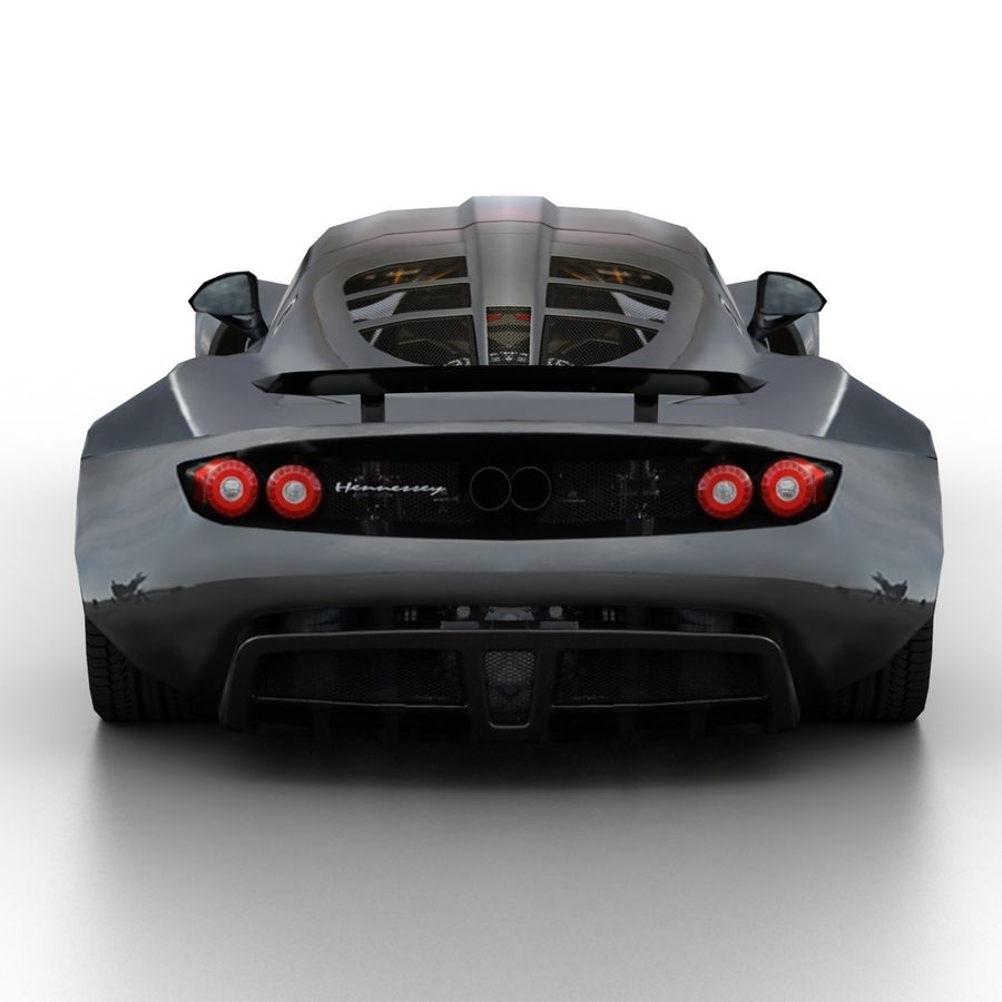 Hennessey Venom GT 2013 royalty-free 3d model - Preview no. 5