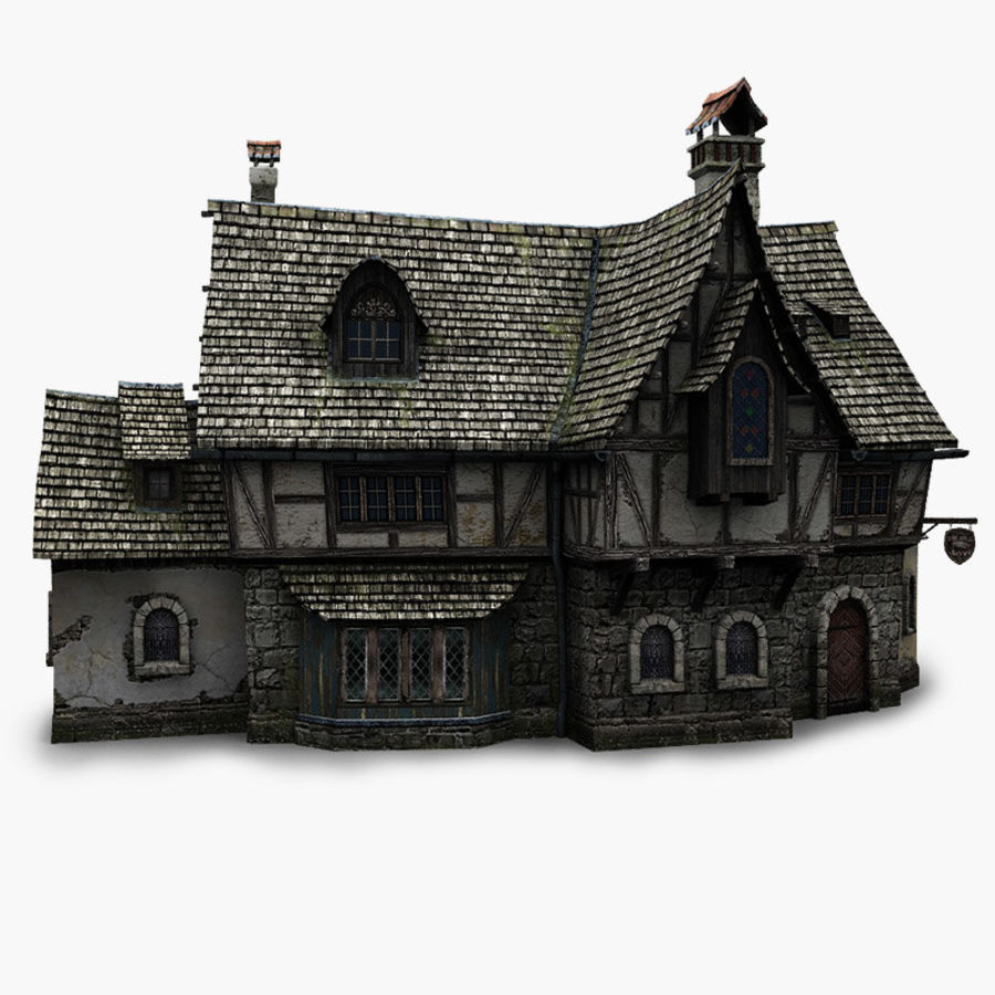 Tavern 2 royalty-free 3d model - Preview no. 1