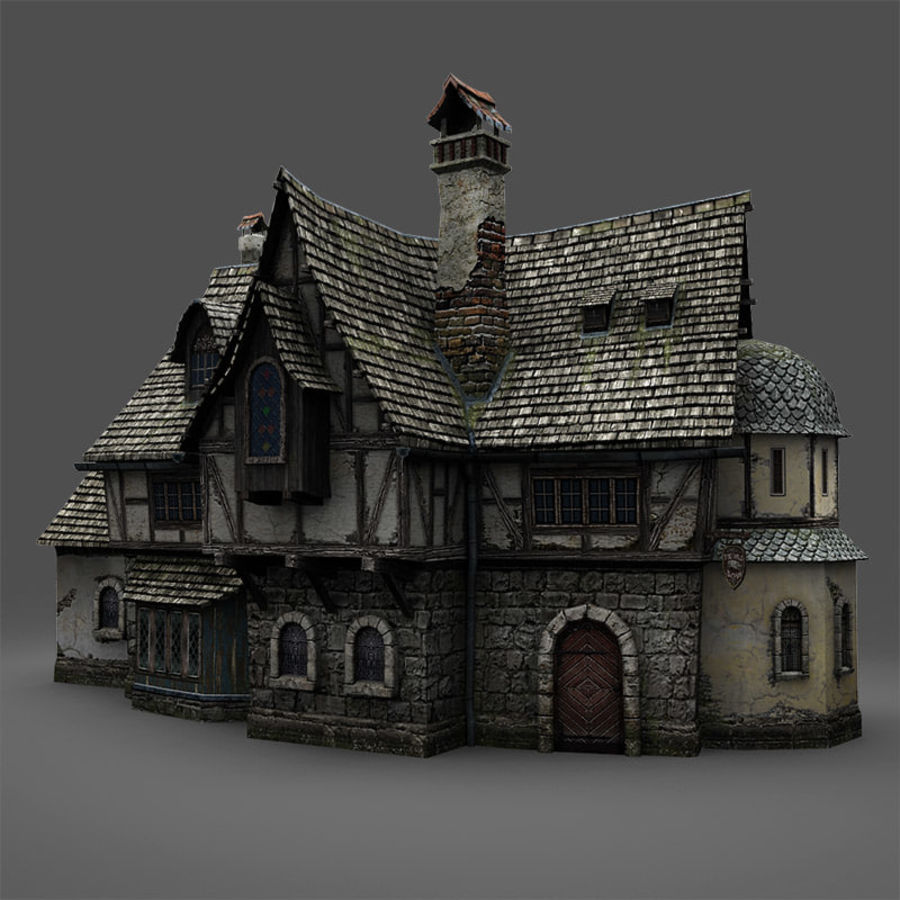 Tavern 2 royalty-free 3d model - Preview no. 3
