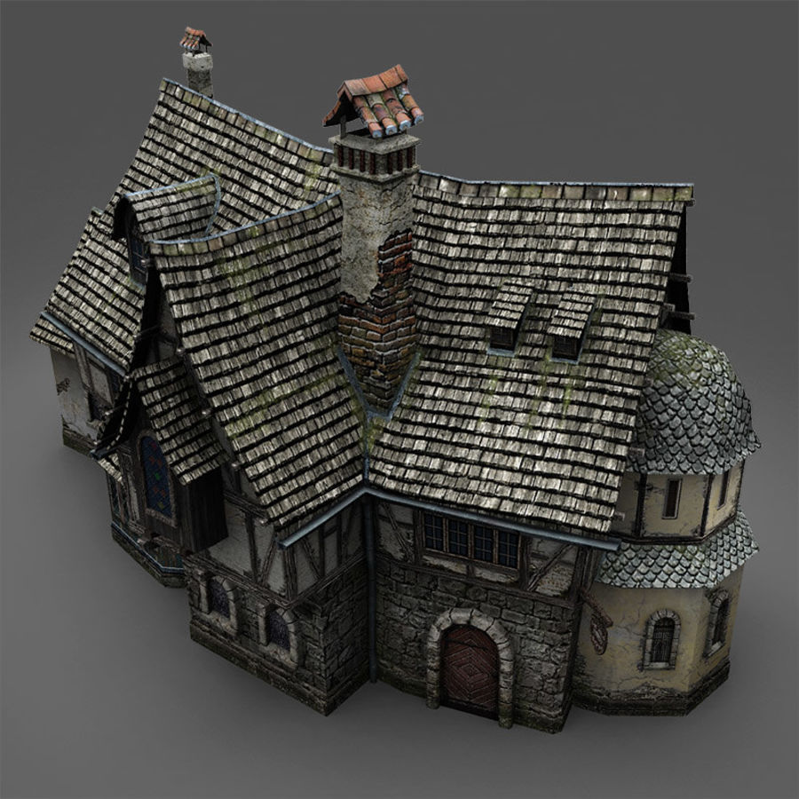 Tavern 2 royalty-free 3d model - Preview no. 6