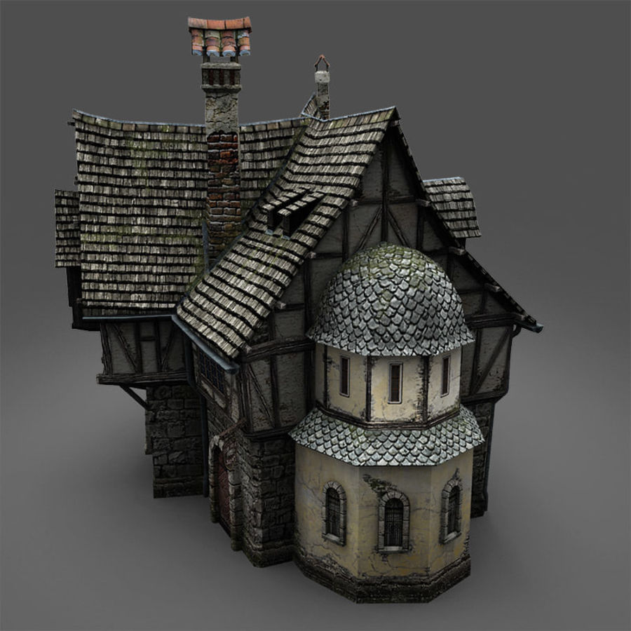 Tavern 2 royalty-free 3d model - Preview no. 8
