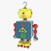Robot giocattolo 3d model