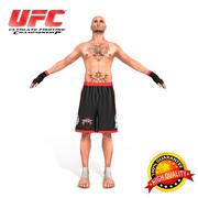 UFC истребитель 3d model