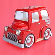Cartoon Truck / Car 3d model
