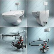 WC pan 3d model