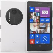 诺基亚Lumia 1020白色 3d model