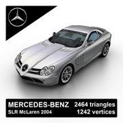 Mercedes-Benz SLR McLaren 2004 3d model
