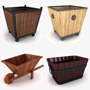 Home Planter Collection 3d model