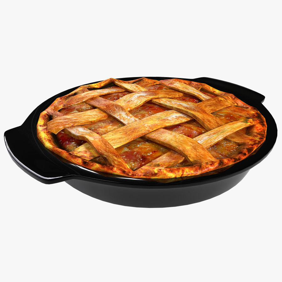 Apple Pie royalty-free 3d model - Preview no. 1
