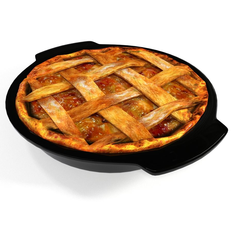 Apple Pie royalty-free 3d model - Preview no. 9
