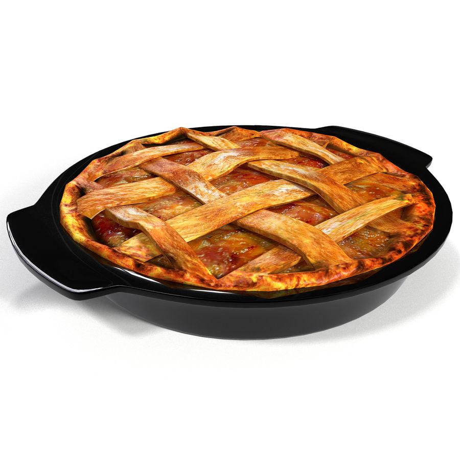 Pie de manzana royalty-free modelo 3d - Preview no. 2