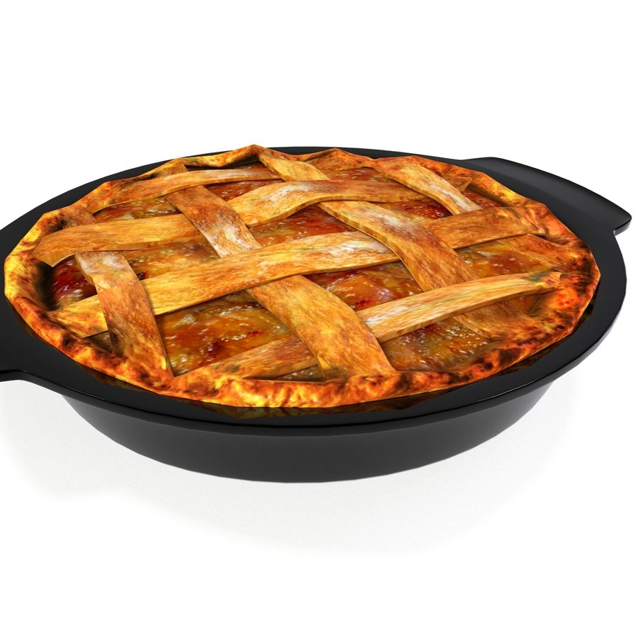 Apple Pie royalty-free 3d model - Preview no. 11