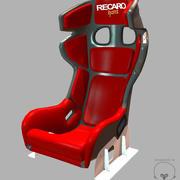 Recaro Racer Pro Ultima 3d model