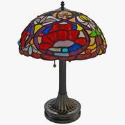 Tiffany Table Lamp Quoizel TF879T 3d model