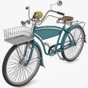 Cykel gammal 3d model