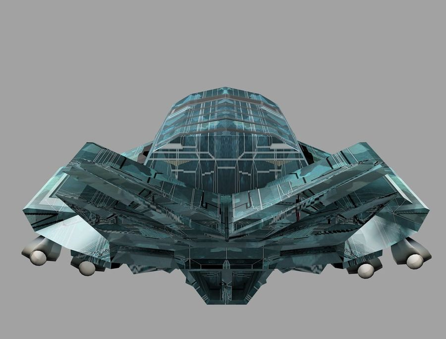 space ship royalty-free 3d model - Preview no. 18