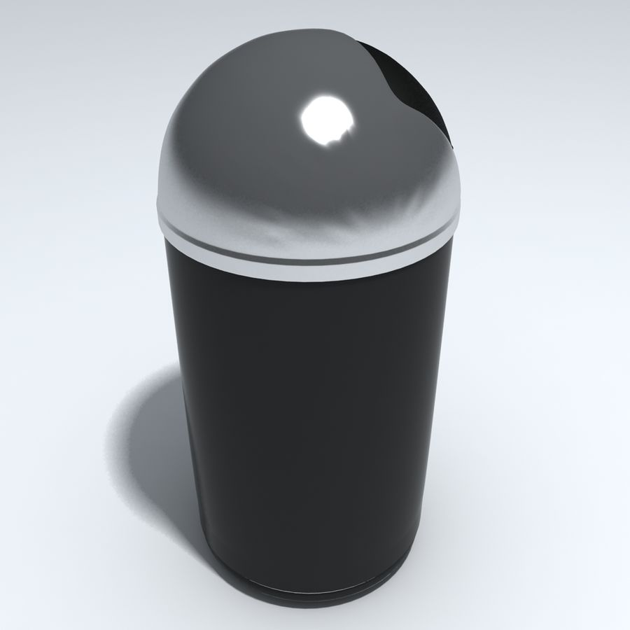 Kitchen Bin royalty-free 3d model - Preview no. 4