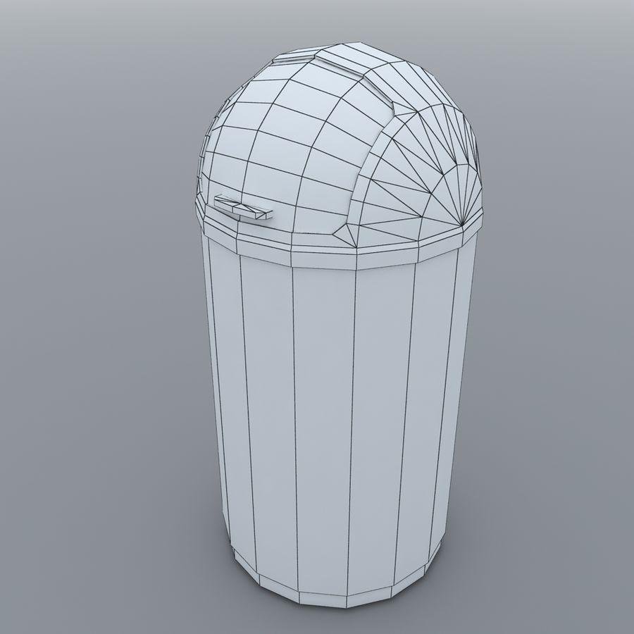 Kitchen Bin royalty-free 3d model - Preview no. 6