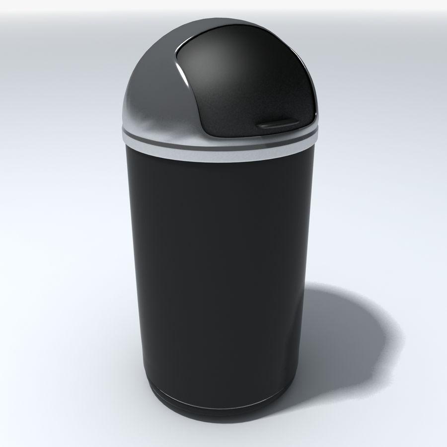 Kitchen Bin royalty-free 3d model - Preview no. 3