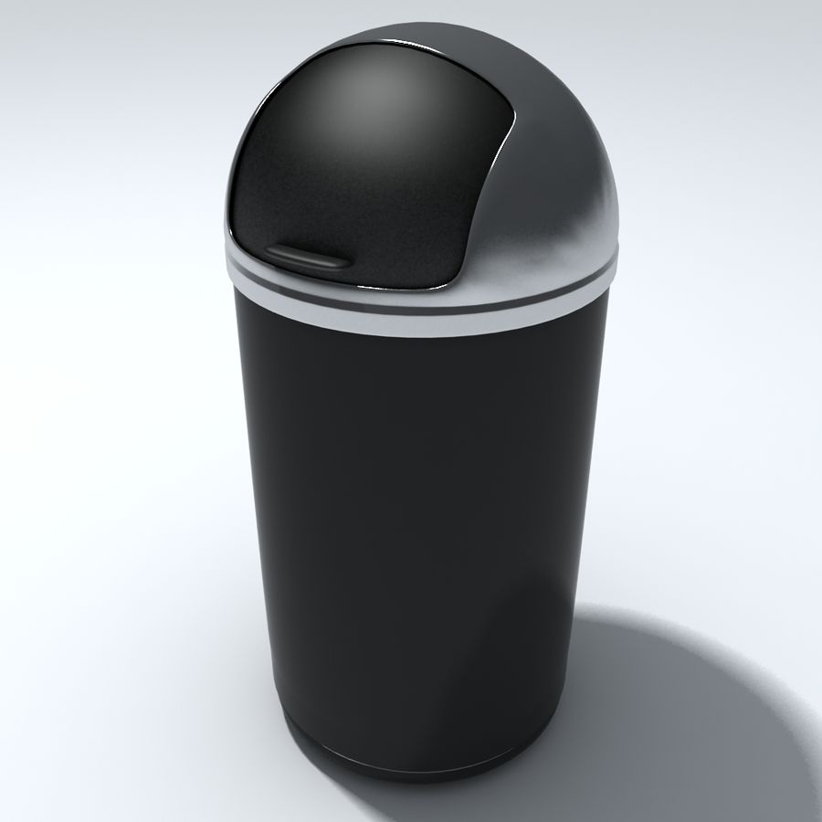 Kitchen Bin royalty-free 3d model - Preview no. 1