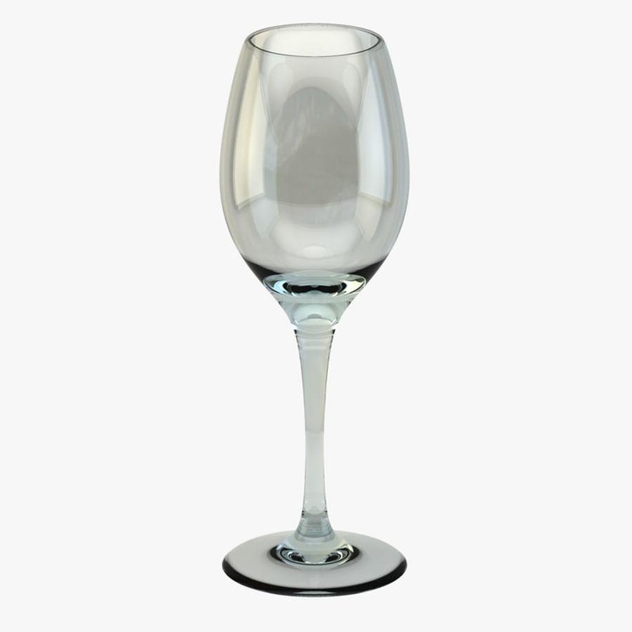 와인 한 잔 royalty-free 3d model - Preview no. 1