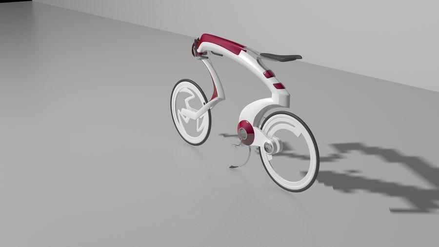 Concept race bike royalty-free 3d model - Preview no. 6