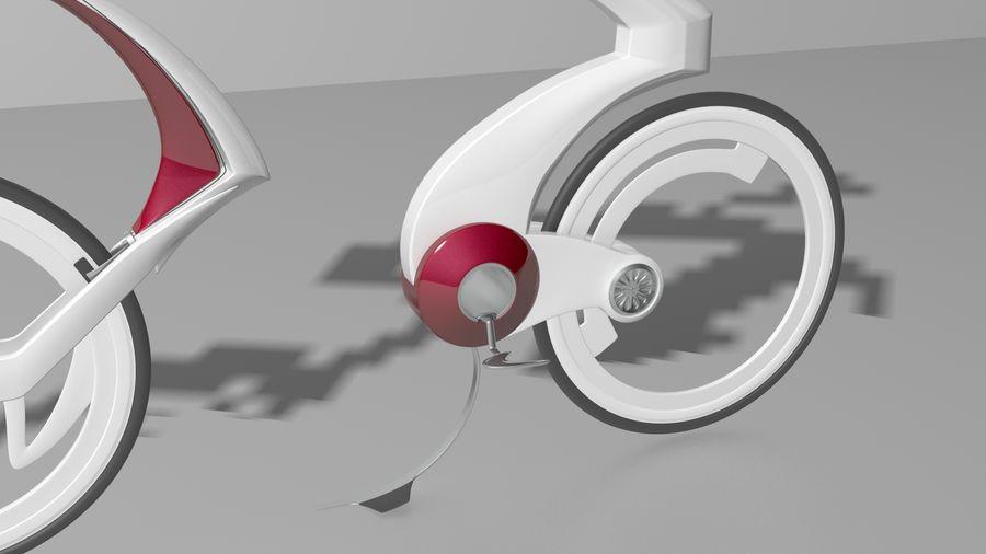Concept race bike royalty-free 3d model - Preview no. 4