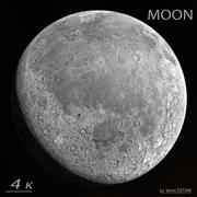 月亮 3d model