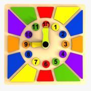 Clock Puzzle Toy 2 3d model