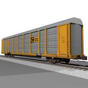 Voiture de train: Chessie System Autorack 3d model