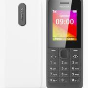Nokia 106 White 3d model