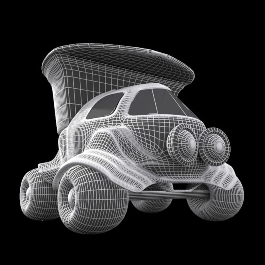 cartoon truck royalty-free 3d model - Preview no. 12