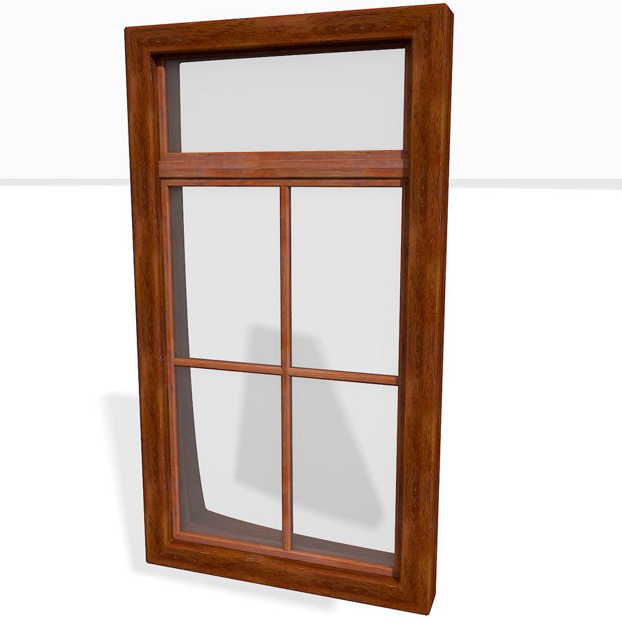 Office Interior Wood Window Frame 3d Model 10 Obj Max