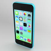 Apple iPhone 5C 3d model
