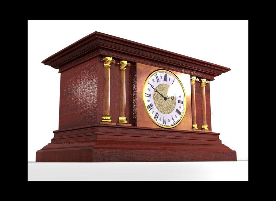 Mantel Clock royalty-free 3d model - Preview no. 1
