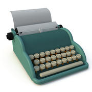 Macchina da scrivere 3d model